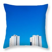 Riverdale Towers Throw Pillow
