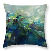 River's Edge Throw Pillow