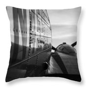 Riveted Throw Pillow
