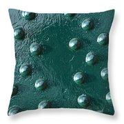 Rivets 01 Throw Pillow