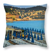 Riviera Full Moon Throw Pillow