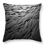 Rivulets Throw Pillow