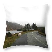 Road To Kenmare Ireland Throw Pillow