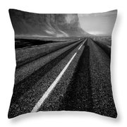 Road To Nowhere Throw Pillow