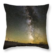 Road To Nowhere - Great Rift Throw Pillow