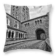 Road To The Gatehouse Throw Pillow