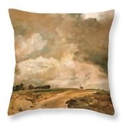 Road To The Spaniards. Hampstead Throw Pillow