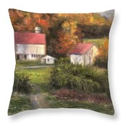 Road To Tranquility Throw Pillow