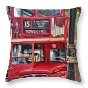 Roadmaster Double Decker 5261 Throw Pillow