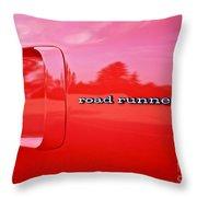 Roadrunner Throw Pillow