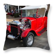 Roadster Redone For Fun Throw Pillow
