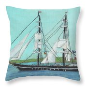 Roald Amundsen Throw Pillow