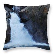 Roaring River Falls Throw Pillow