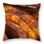 Roasted Pumpkin Throw Pillow