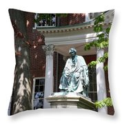 Robert Brooke Taney Statue - Maryland State House  Throw Pillow