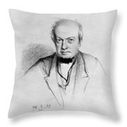 Robert Brown Throw Pillow