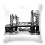 Robert F. Kennedy Bridge Throw Pillow