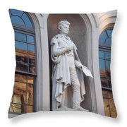 Robert Fulton Throw Pillow