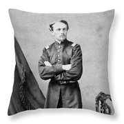 Robert Gould Shaw Throw Pillow