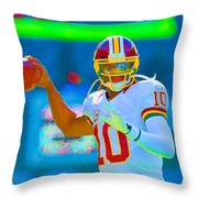 Robert Griffin IIi   Rg 3 Throw Pillow