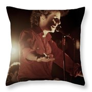 Robert Hazard Throw Pillow
