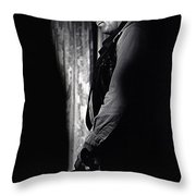 Robert Mitchum Young Billy Young  Old Tucson 1968 Throw Pillow