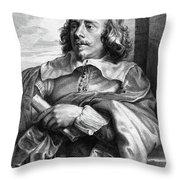 Robert Van Voerst (1597-1635/36) Throw Pillow