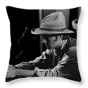 Robert Walker Jr  The War Wagon Homage 1967 Throw Pillow