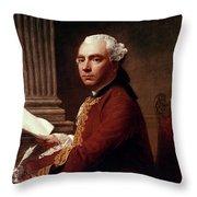 Robert Wood (c1717-1771) Throw Pillow