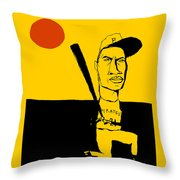 Roberto Clemente Pittsburgh Pirates Throw Pillow