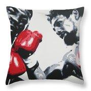 Roberto Duran 2 Throw Pillow