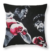 Roberto Duran 4 Throw Pillow