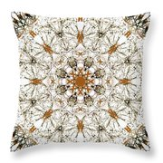 Robins In The Trees II Throw Pillow