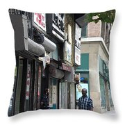 Rochester Main Street 2009 Throw Pillow