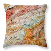 Rock Abstract #2 Throw Pillow