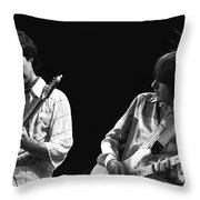 Rock And Roll Fantasy Throw Pillow