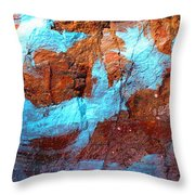 Rock Art 15 Throw Pillow