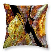 Rock Art 17 Throw Pillow by ABeautifulSky Photography