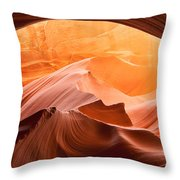 Rock Bridge Throw Pillow