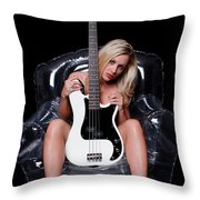 Rock Chic Throw Pillow