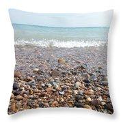 Rock Collector Throw Pillow