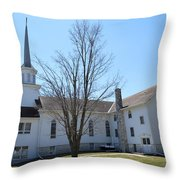 Rock Creek Church Throw Pillow