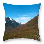 Rock Creek Drainage II Throw Pillow