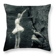 Rock Dancing Throw Pillow