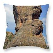 Rock Formation Belogradchik Throw Pillow
