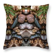 Rock Garden 0192-3 Throw Pillow