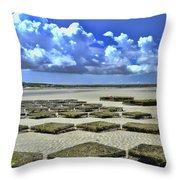 Rock Harbor Lowtide 3 Throw Pillow