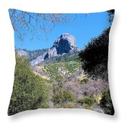 Rock In California Throw Pillow