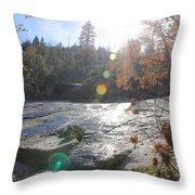 Rock Mountian Yosemite Throw Pillow