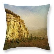 Rock Of Ages Throw Pillow